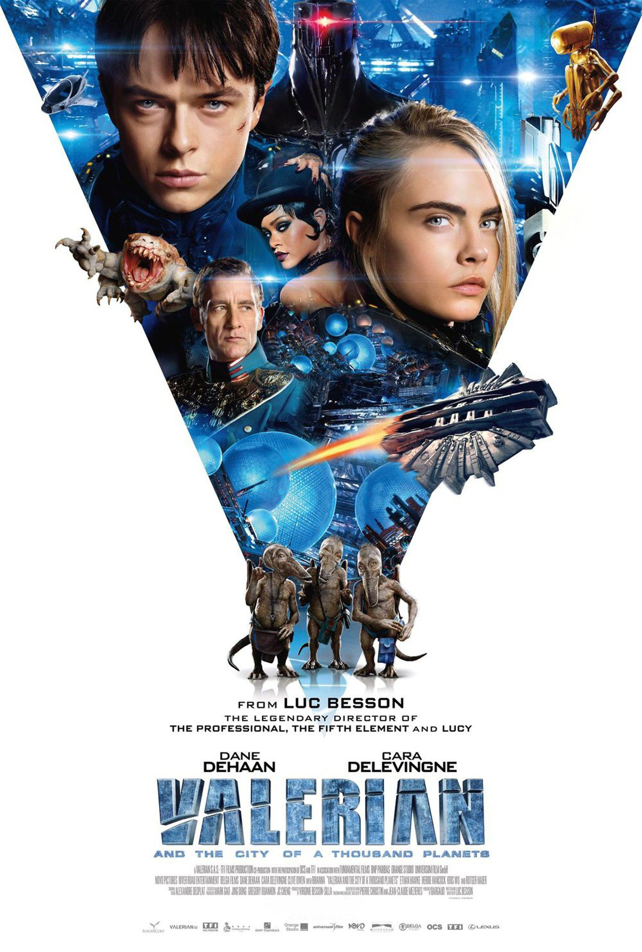 V poster