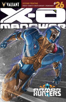 X-O Manowar Vol 3 26 2nd Printing