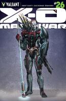 X-O Manowar Vol 3 26 Design Variant