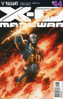 X-O Manowar Vol 3 44 Segovia Variant