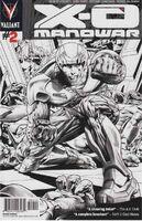 X-O Manowar Vol 3 2 2nd Printing