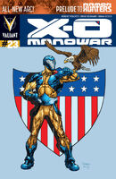 X-O Manowar Vol 3 23 Raney Variant