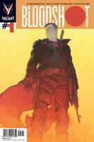 Bloodshot Vol 3 1 Ribic Variant