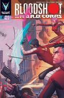 Bloodshot and HARD Corps Vol 1 21 Molina Variant
