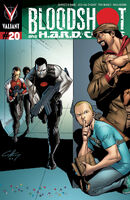 Bloodshot and HARD Corps Vol 1 20 Henry Variant