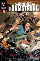 Archer and Armstrong Vol 2 5 Lupacchino Archer and Armstrong Variant