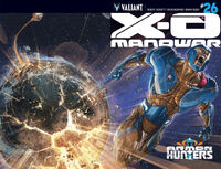 X-O Manowar Vol 3 26 Wraparound