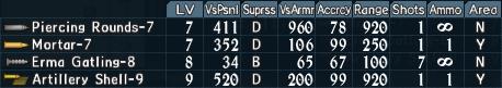Artillery utility 1-7