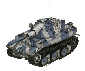 Type36 heavy tank a