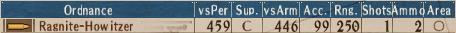 S-Howitzer T2-7 - Stats