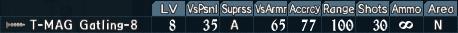 Gatling turret 1-8