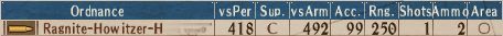 S-Howitzer T4-2 - Stats
