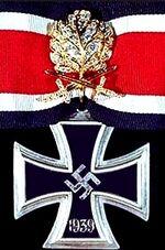 Knights cross of war merit