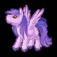 Lilac Pegasus Baby