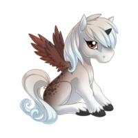 November Reign Alicorn Baby