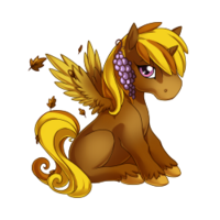 Autumn Alicorn Baby