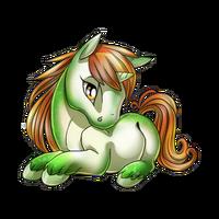 Caramel Apple Unicorn Baby