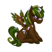 Evergreen Alicorn Baby