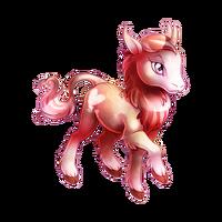 Pluto Heraldic Unicorn Baby