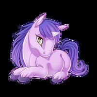 Lilac Unicorn Baby