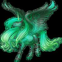 Emerald Wind Alicorn