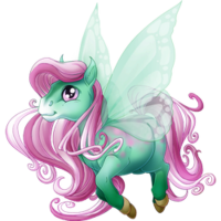Sparkling Pistachio Spring Fairy