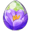 Snow Bloom Unicorn Egg