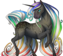 Rainbow Veins Unicorn
