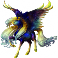 Galaxy Dust Alicorn