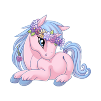Flower Crowned Unicorn Baby