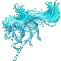 Aquamarine Unicorn