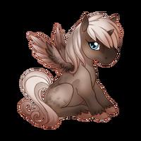 Faded Rose Alicorn Baby
