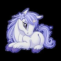 Periwinkle Unicorn Baby