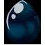 Midnight Shimmer Alicorn Egg