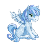 Frost Alicorn Baby