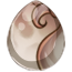 Faded Rose Heraldic Unicorn Egg