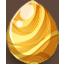 Gold Spring Fairy Egg