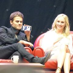 Paul Wesley, Candice Accola