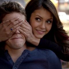 Katherine in Elena 's body