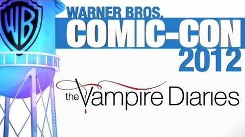 Comic-Con 2012 The Vampire Diaries Panel