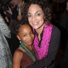 Jasmine with her daughter, Imani, age 9