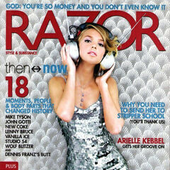 Razor — Feb 2005, United States, Arielle Kebbel