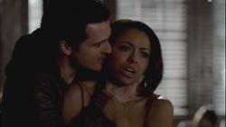 Enzo threatens Bonnie
