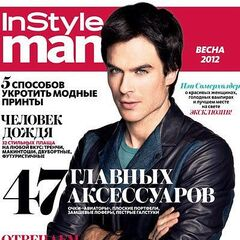 Instyle Man — Spring 2012, Russia, Ian Somerhalder