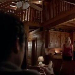 Enzo Watching Caroline, Stefan and Damon