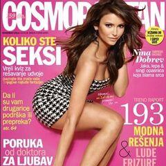 Cosmopolitan — Nov 2013, Serbia, Nina Dobrev