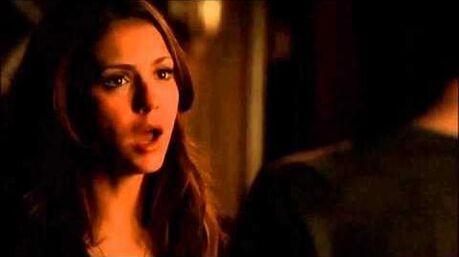 TVD - Damon & Elena - Delena 'Break Up' Scene 516