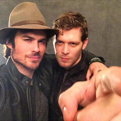 Ian Somerhalder, Joseph Morgan