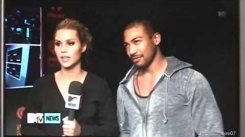 Claire Holt, Charles Michael Davis Preview 'The Originals'