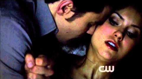 TVD 5x09 Katherine and Stefan locked in the safe